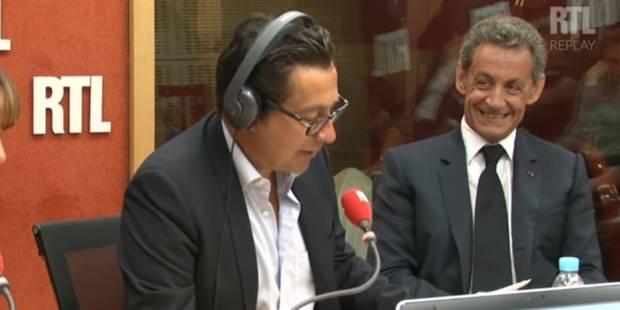 Quand Laurent Gerra parodie Sarkozy... devant le modèle original (VIDEO) - La DH