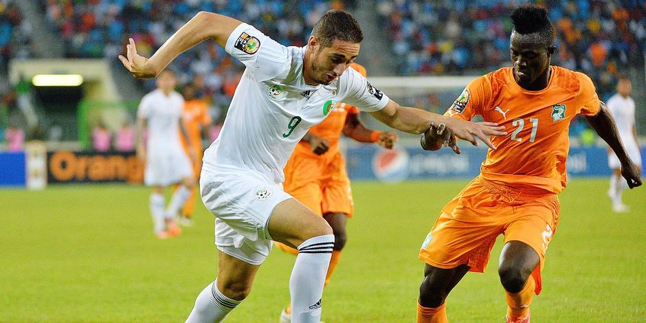 FOOTBALL : Cote d Ivoire vs Algerie - CAN 2015 - Quarts de finale - 01/02/2015