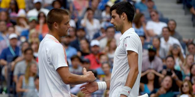 US Open: Djokovic en 8e de finale par abandon - La DH