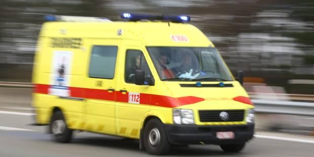 Accident mortel à hauteur de la station-service de Wetteren, sur l'E40