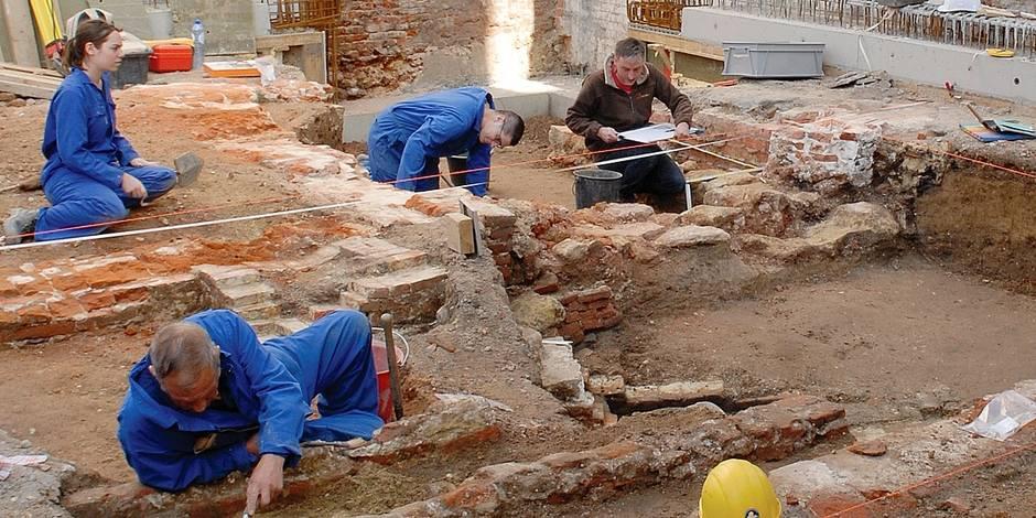 Bruxelles: Toujours plus de chantiers archéologiques