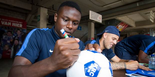 Derrick Tshimanga signe à Willem II - La DH