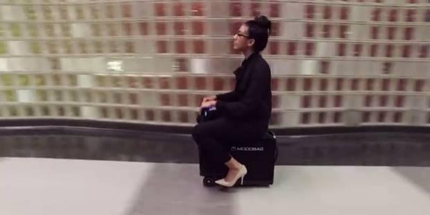 Votre future valise pourrait être motorisée et vous transporter (VIDEO) - La DH