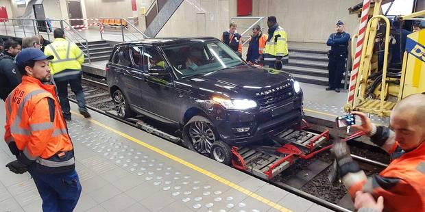 Range Rover dans le prémétro: la facture s'élève à 22.000€ - La DH