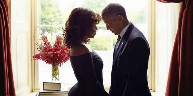 La photo du couple Obama qui fait parler d'elle - La DH