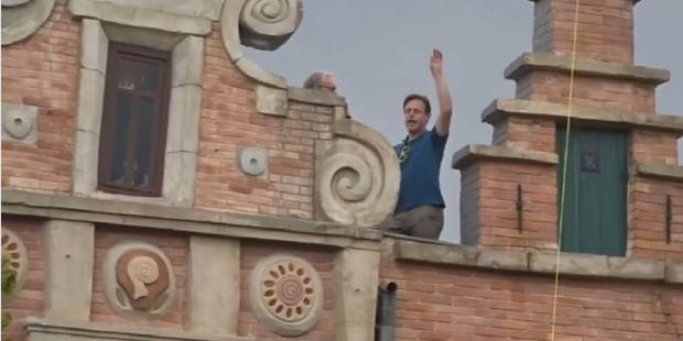 Le déhanché de Bart De Wever à Plopsaland vaut le détour - La DH