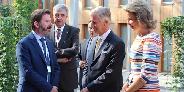 Le couple royal en visite en province de Luxembourg (PHOTOS)