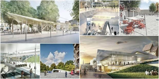 Bruxelles: découvrez les sept stations du futur métro Nord (PHOTOS) - La DH