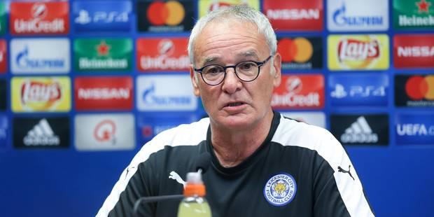 """Ranieri avant d'affronter Bruges: """"C'est dommage que le stade ne sera pas complet"""" - La DH"""
