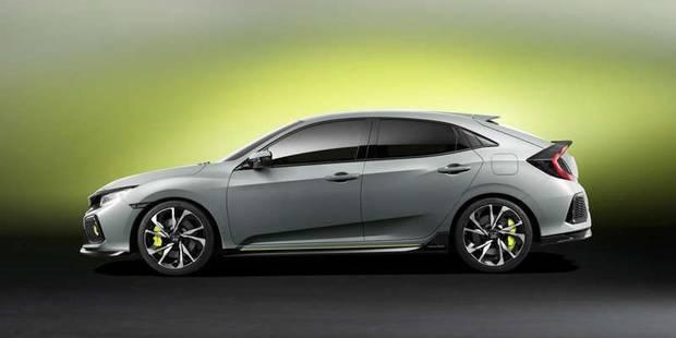 La nouvelle Civic Hatchback plus grande, plus sportive - La DH