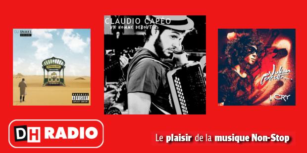 Claudio Capéo et son accordéon dans les nouveautés de DH Radio - La DH