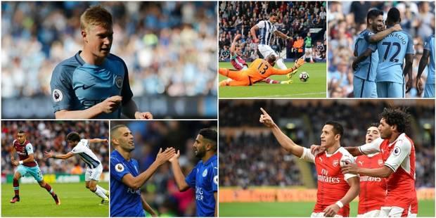 Premier League : Manchester City encore impressionnant, Leicester et Arsenal vainqueurs - La DH