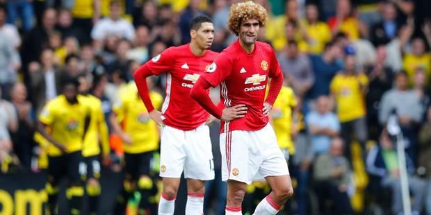 Belges à l'étranger : United battu 3-1 à Watford, Fellaini provoque un penalty - La DH