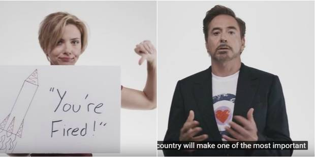 Une flopée de stars d'Hollywood appellent à voter contre Donald Trump - La DH