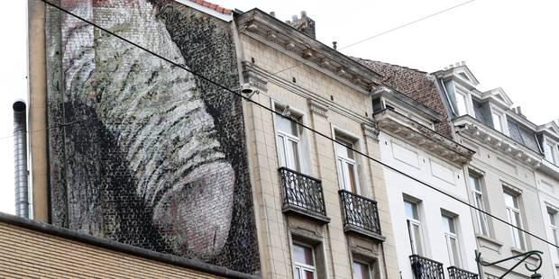 La fresque du pénis de Saint-Gilles sera effacée - La DH