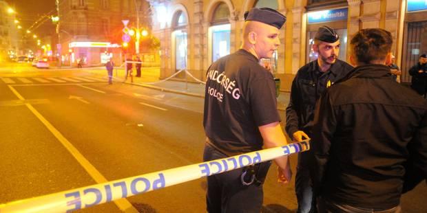 Deux policiers blessés par l'explosion d'un engin artisanal à Budapest - La DH