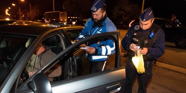 La Louvière : il récupère son frère, arrêté par la police, et provoque un accident - La DH
