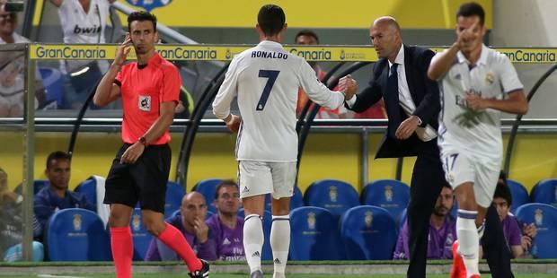 """Zidane répond à la polémique: """"Tout est normal avec Ronaldo"""" - La DH"""