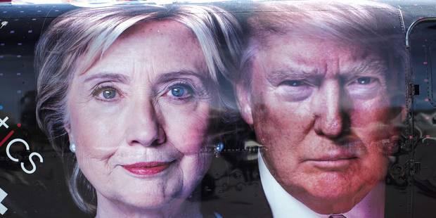 Cette nuit, duel crucial entre Clinton et Trump pour la présidentielle (DIRECT) - La DH