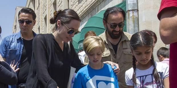 Angelina Jolie n'est pas à l'abri, elle pourrait perdre la garde de ses enfants - La DH