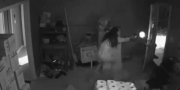 Cambriolée en pleine nuit, une femme tire sur les voleurs - La DH