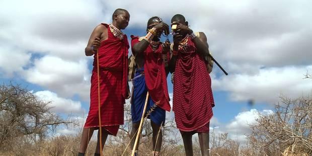 """Des Masa� """"gardiens de lions"""" troquent leur lance pour un GPS"""