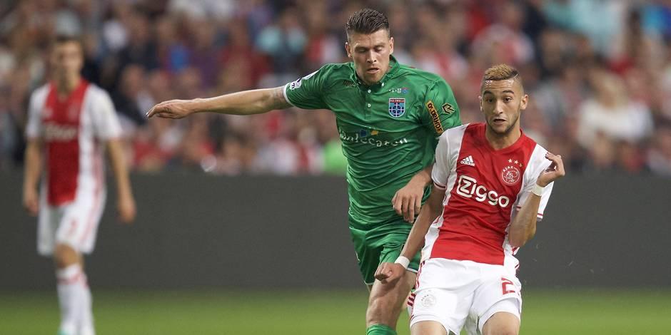 L'Ajax accueille les Rouches, sans son donneur d'assist Hakim Ziyech