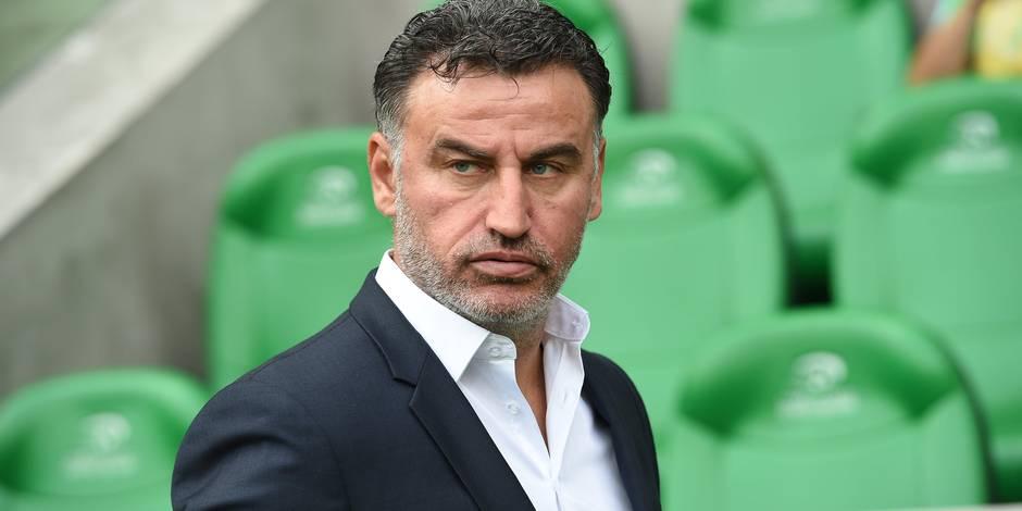 L'entraîneur de Saint-Etienne considère Anderlecht comme le favori du groupe
