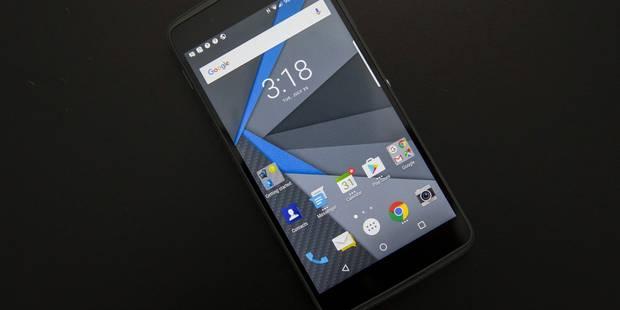 BlackBerry abandonne la fabrication de smartphones - La DH