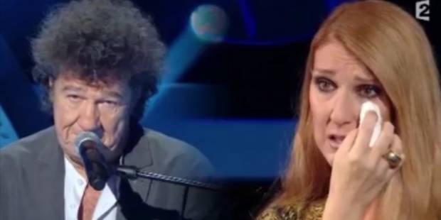 Céline dion, émue aux larmes sur le plateau du Grand Show - La DH