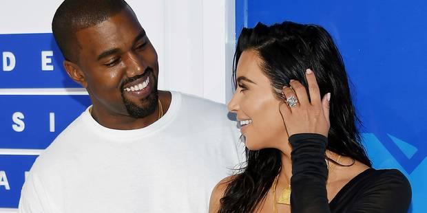 Kanye West reporte des concerts après le braquage de sa femme Kim Kardashian - La DH