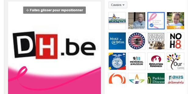 Facebook vous propose de soutenir la recherche contre le cancer du sein - La DH