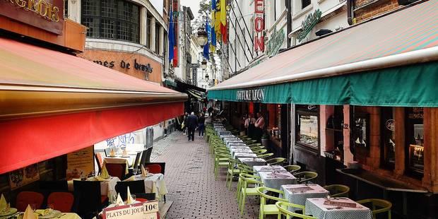 Interdiction des auvents: les commerçants de la rue des Bouchers devant le conseil d'Etat - La DH