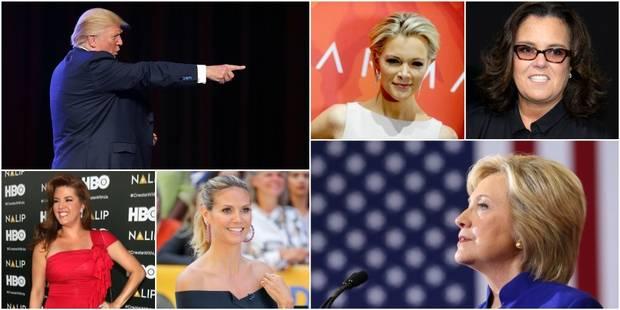 Rosie, Heidi, Megyn, Alicia, Hillary: avec les femmes, Trump dérape souvent - La DH