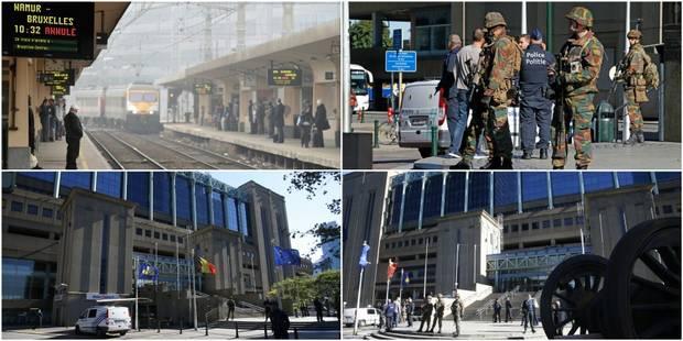 Alertes à la bombe dans les gares de Bruxelles-Nord et Bruxelles-Midi: une heure de pointe très compliquée sur le rail -...