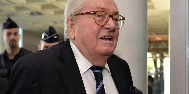 France: Jean-Marie Le Pen au tribunal pour être réintégré dans son parti - La DH