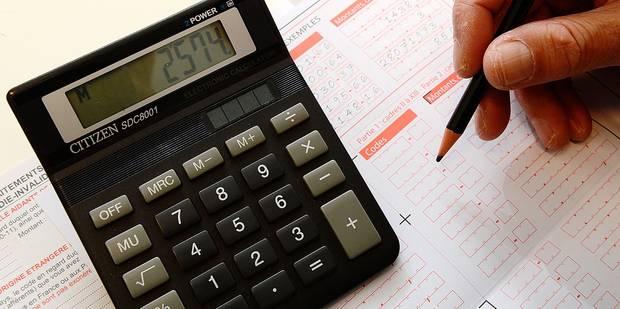 Impôts : 93 millions € non-remboursés l'an passé - La DH