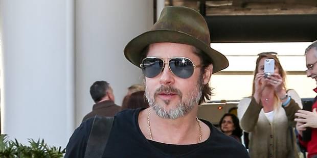 Brad Pitt a revu ses enfants - La DH