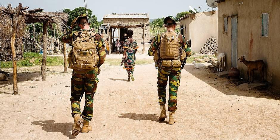 """En mission avec les militaires belges au Mali: les Maliens, les """"yeux et les oreilles"""" des Belges - La DH"""
