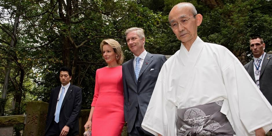 Philippe et Mathilde en visite d'État au Japon