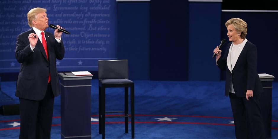 Quand le débat Trump-Clinton inspire les internautes, cela fait vraiment rire (VIDEOS)