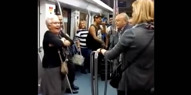 Quand un métro se transforme en piste de danse (VIDEO) - La DH