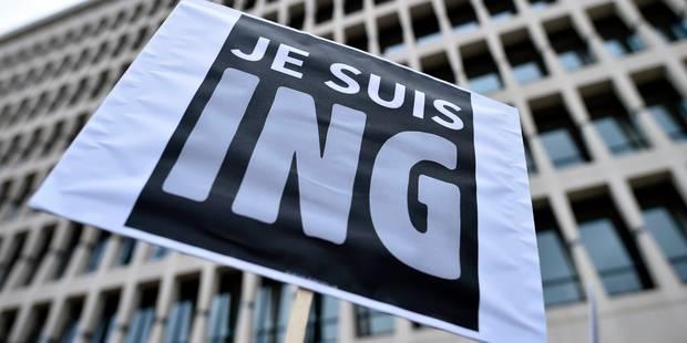 ING: le front commun syndical dépose ce mercredi un préavis de grève et d'actions - La DH