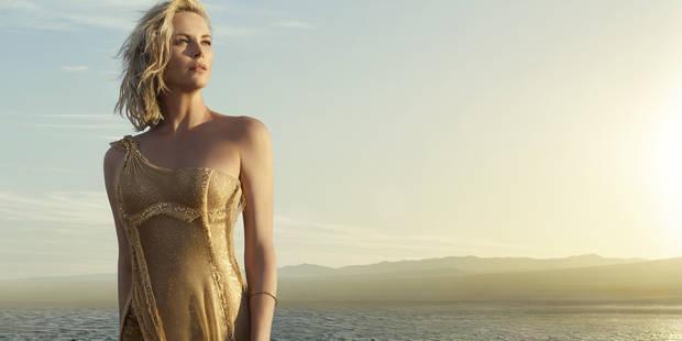 Charlize Theron sublime en Dior pour Mondino - La DH