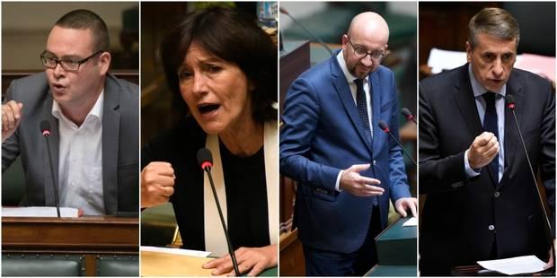 Vif incident à la Chambre après que le premier ministre monte à la tribune à l'heure du JT - La DH