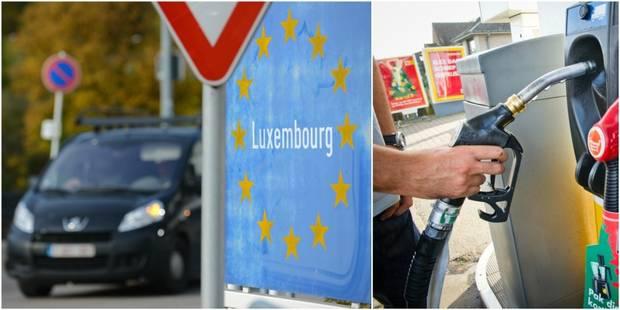 Diesel, tabac, alcool...: voici ce qu'un déplacement au Luxembourg vous rapporte (TABLEAU COMPARATIF) - La DH