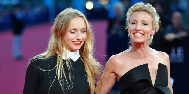 Deux clichés intimes d'Alexandra Lamy dévoilés par sa fille - La DH
