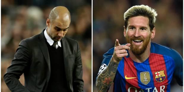 Le Barça et Messi donnent une leçon à Man City et Guardiola (4-0) - La DH