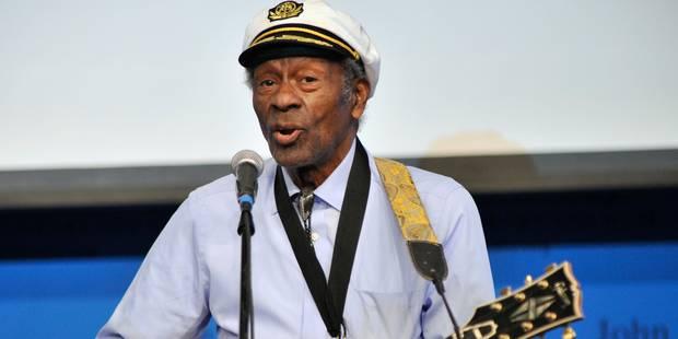 À 90 ans, Chuck Berry n'a pas dit son dernier mot - La DH