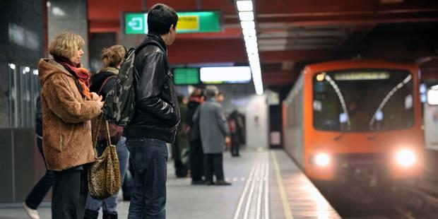 Soyez prévoyant : une partie du métro bruxellois sera à l'arrêt ce week-end - La DH